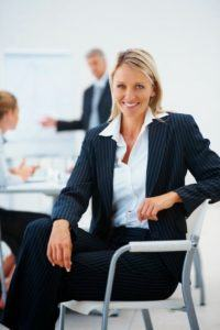 Photo of a woman in business attire