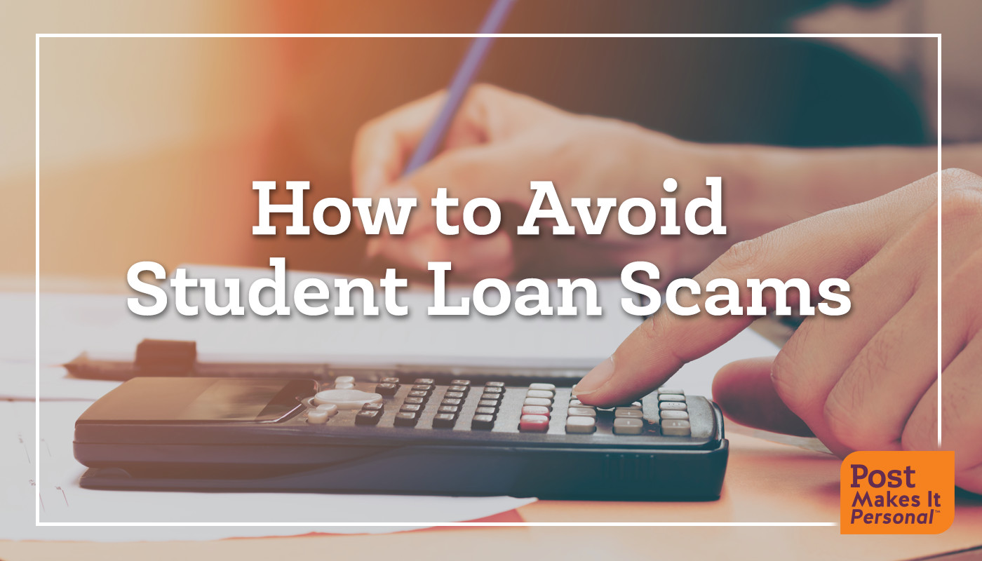 How to Avoid Student Loan Scams