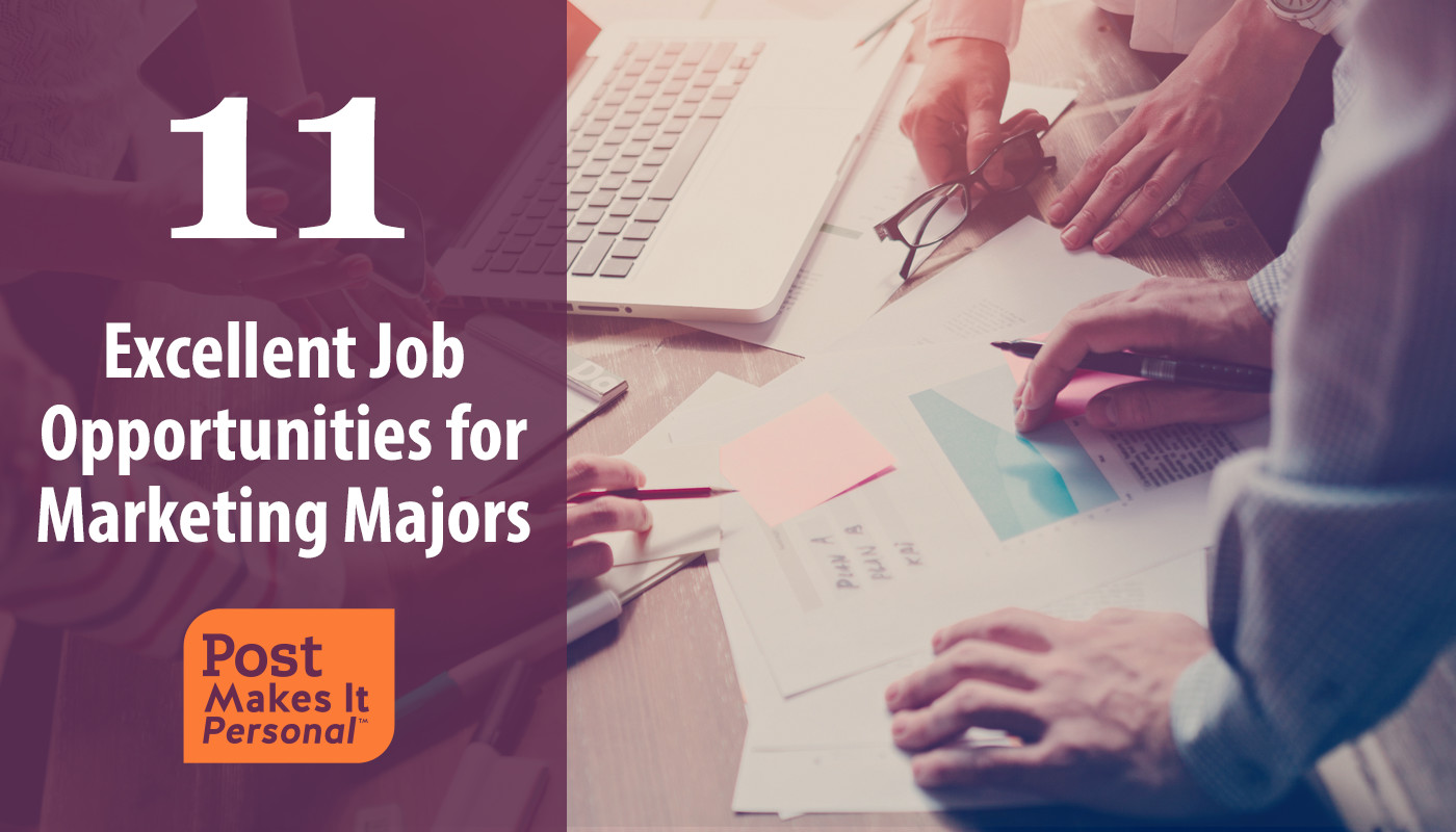 11 Excellent Job Opportunities for Marketing Majors