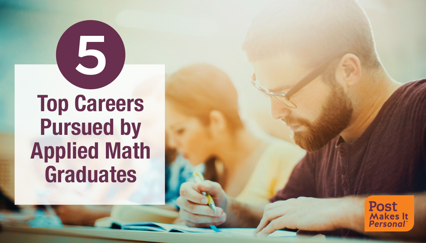 5 Top Careers Pursued by Applied Math Graduates