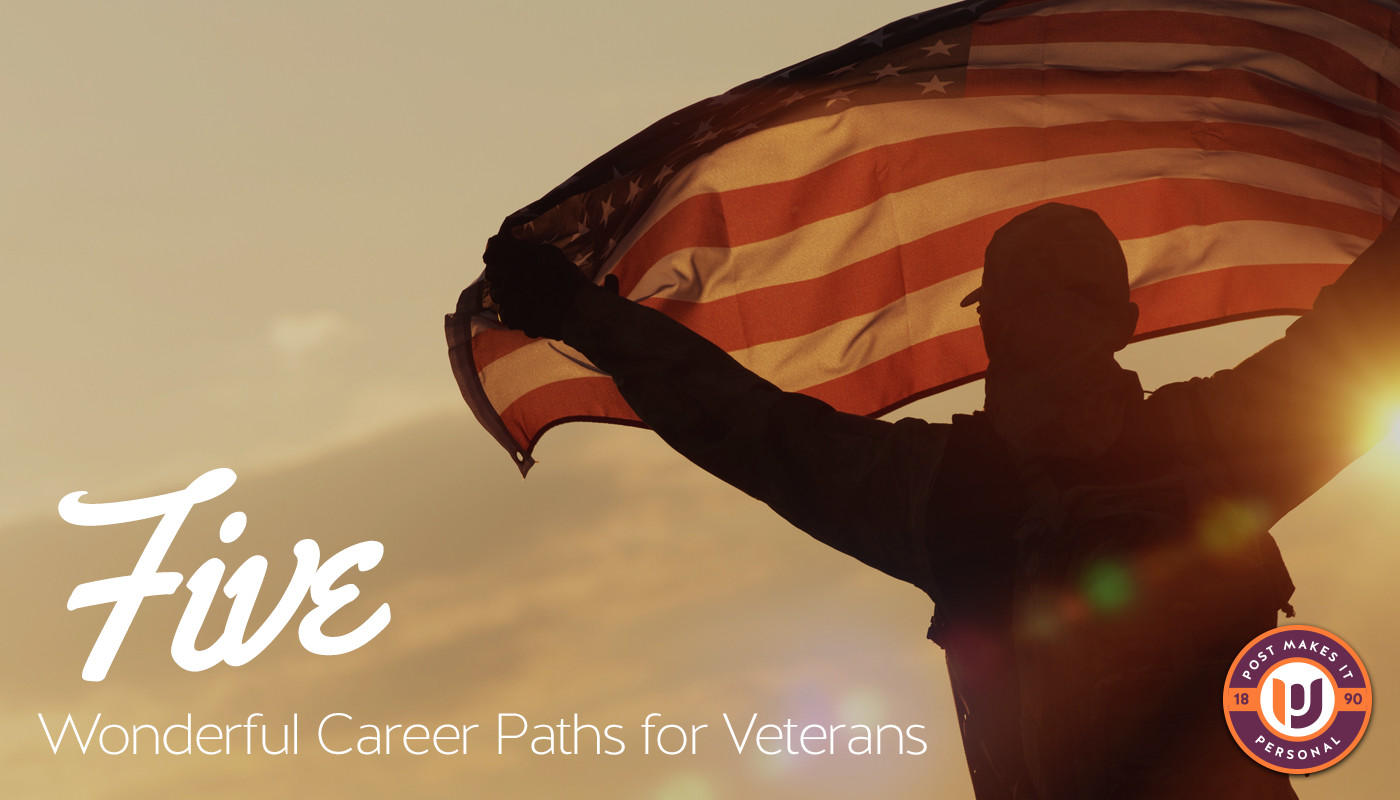 5 Wonderful Career Paths for Veterans