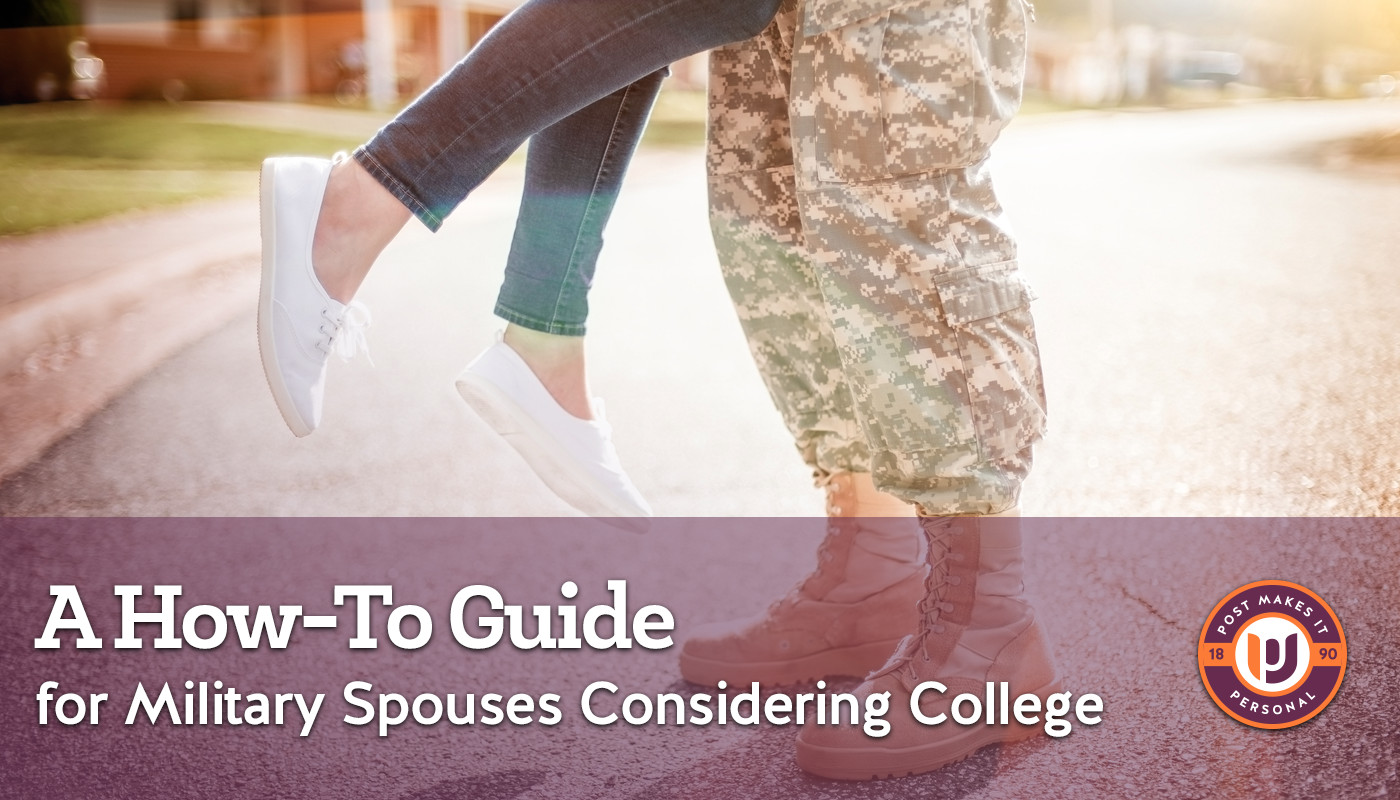 A How-To Guide for Military Spouses Considering College