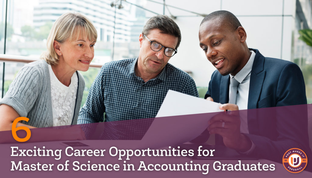 6 Career Opportunities for Master's in Accounting Graduates