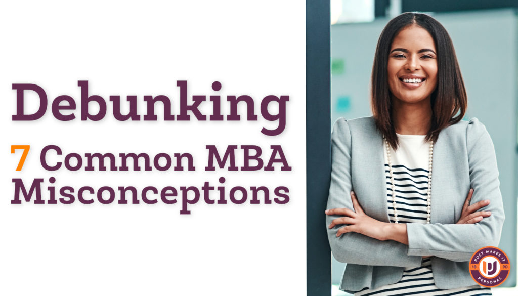 Debunking 7 Common MBA Misconceptions
