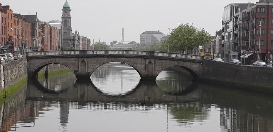 bridge over river in Limerick