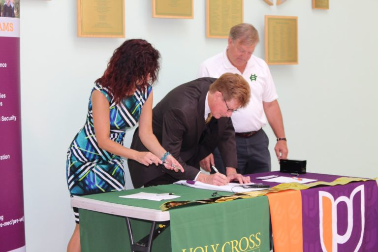 Post Helps Establish Frontiers Academy at Holy Cross