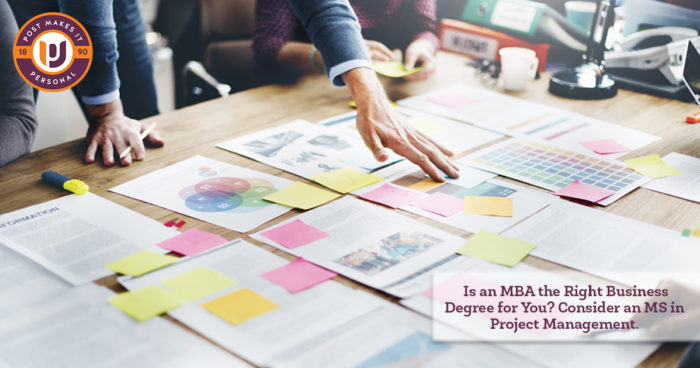 Is Mba The Right Degree Consider An Ms In Project Management