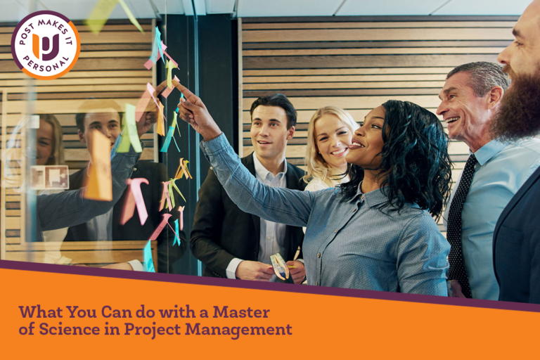 What You Can Do with a Master of Science in Project Management and Why You Need It
