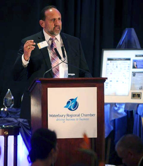 Post speaker at Greater Waterbury Chamber of Commerce Event
