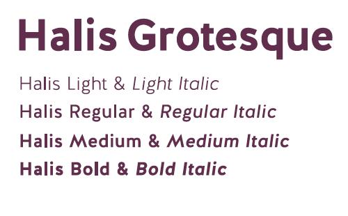 hails grotesque typeface