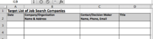 Spreadsheet Screenshot for Step 1