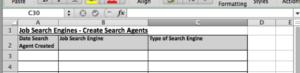 Spreadsheet Screenshot for Step 2