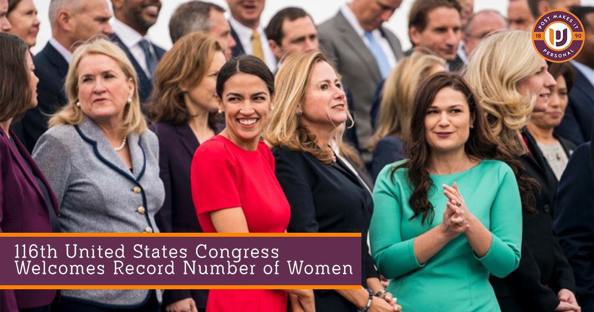 116th United States Congress Welcomes Record Number of Women