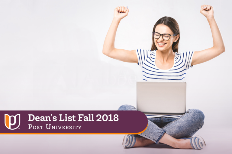 Dean's List – Fall 2018 | Post University