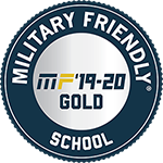 Military Friendly School Gold Award for 2019