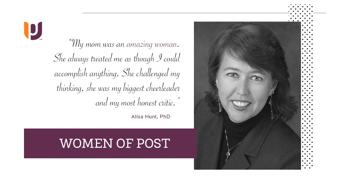 Women of Post – Alisa Hunt