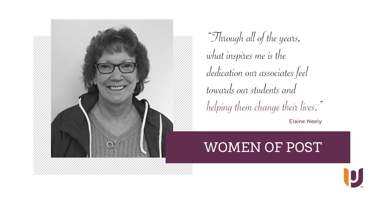 Women of Post – Elaine Neely