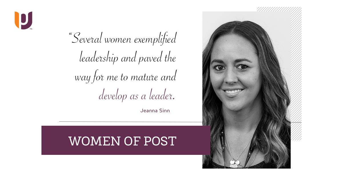 Women of Post – Jeanna Sinn