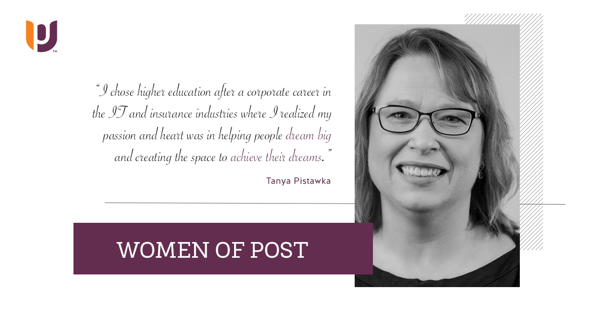 Women of Post – Tanya Pistawka