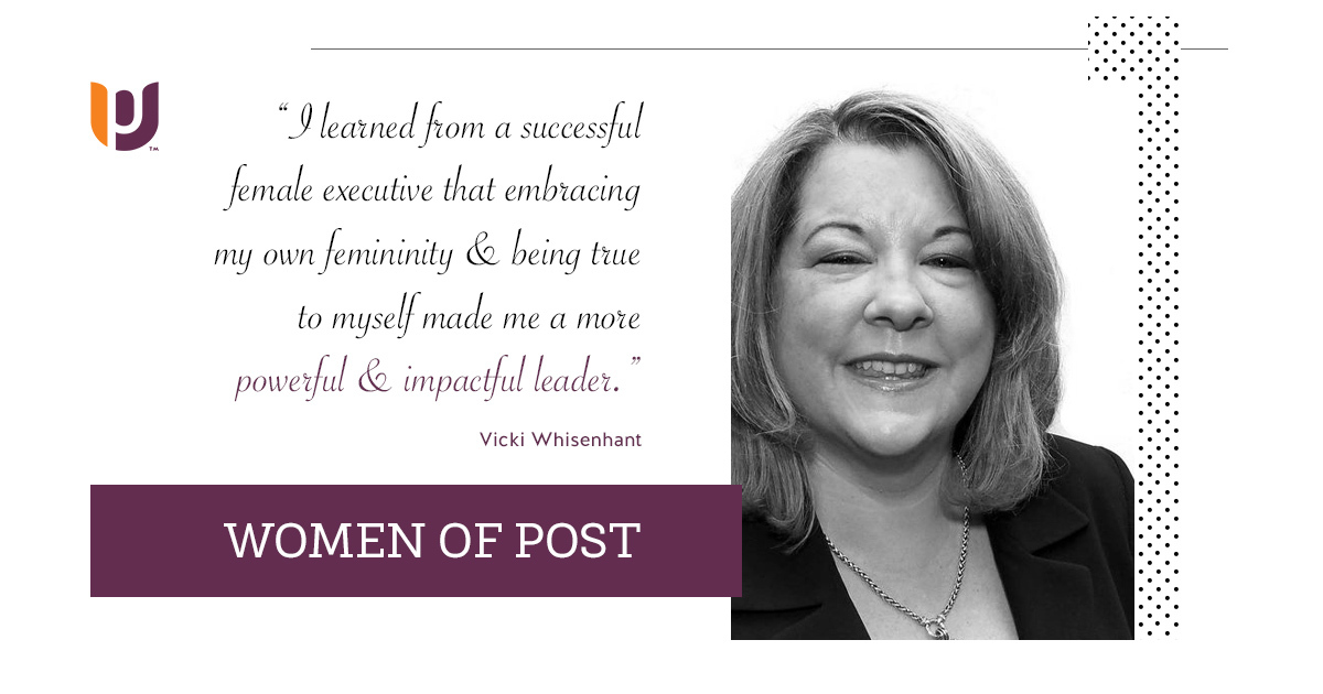 Women of Post – Vicki Whisenhant