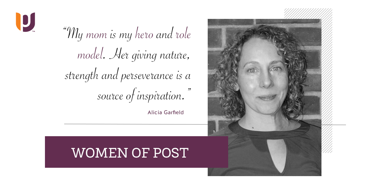 Women of Post – Alicia Garfield