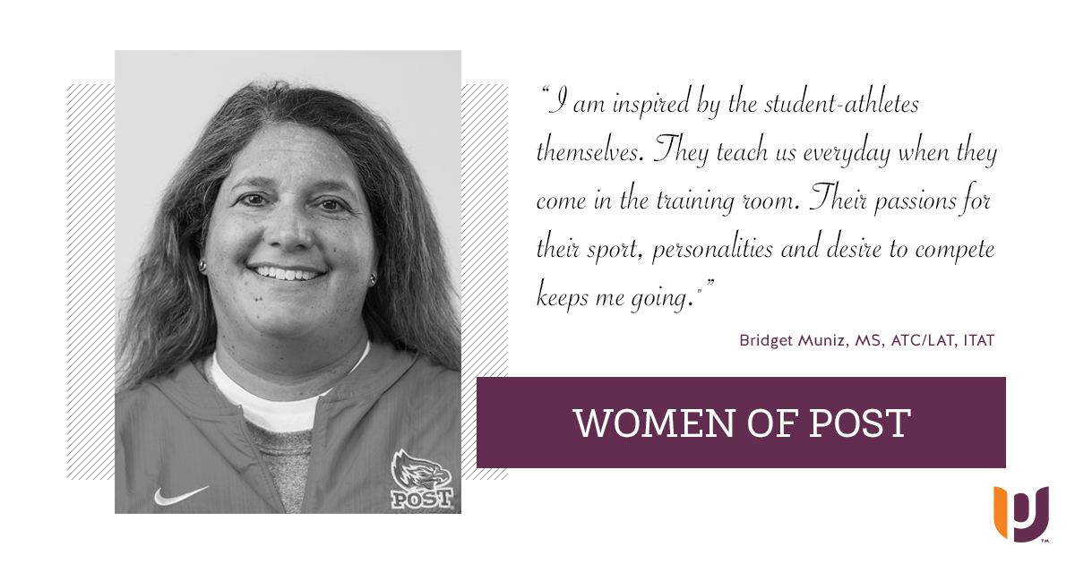 Women of Post – Bridget Muniz, MS, ATC/LAT, ITAT