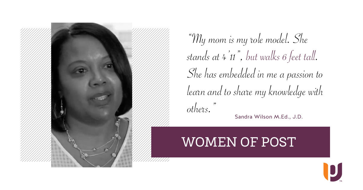 Women of Post – Sandra Wilson