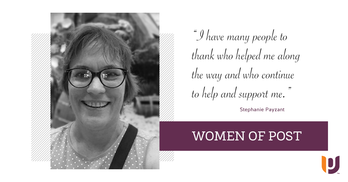 Women of Post – Stephanie Payzant