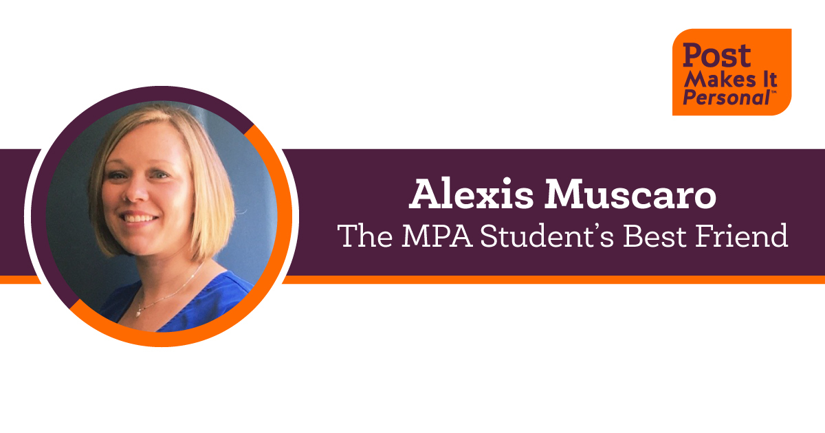 Alexis Muscaro, the MPA Student's Best Friend