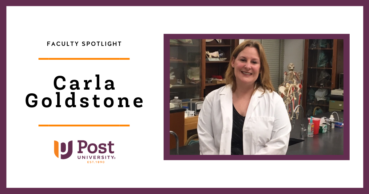 Faculty Spotlight: Carla Goldstone