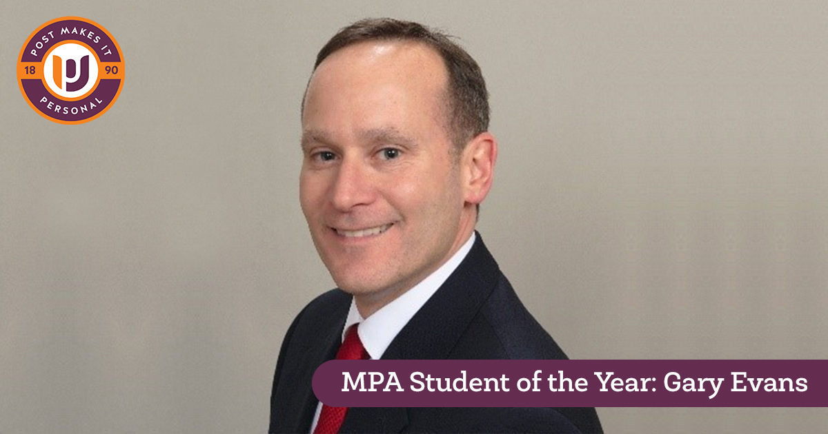 MPA Student of the Year