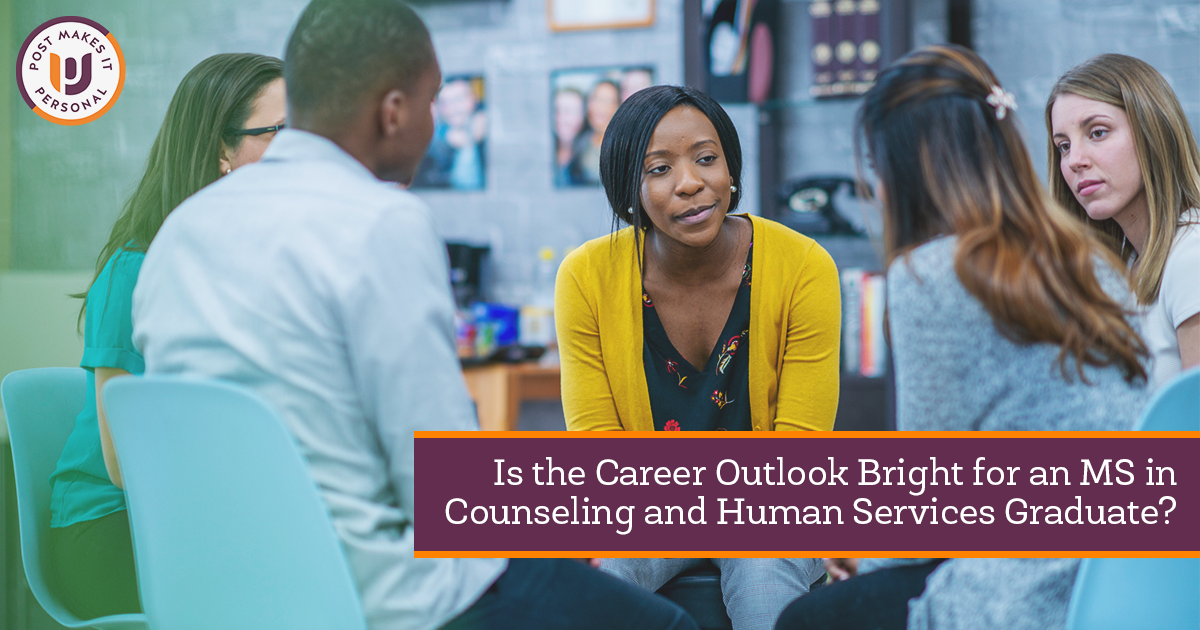 Is the Career Outlook Bright for an M.S. in Counseling and Human Services Graduate?