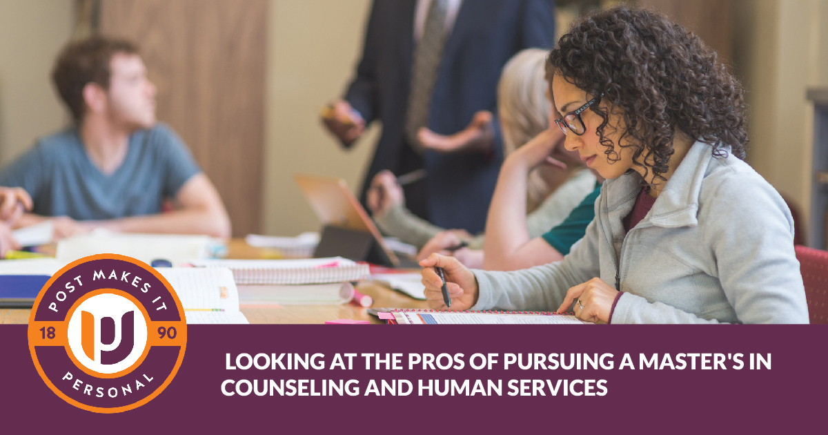Looking at the Pros of Pursuing an M.S. in Counseling and Human Services
