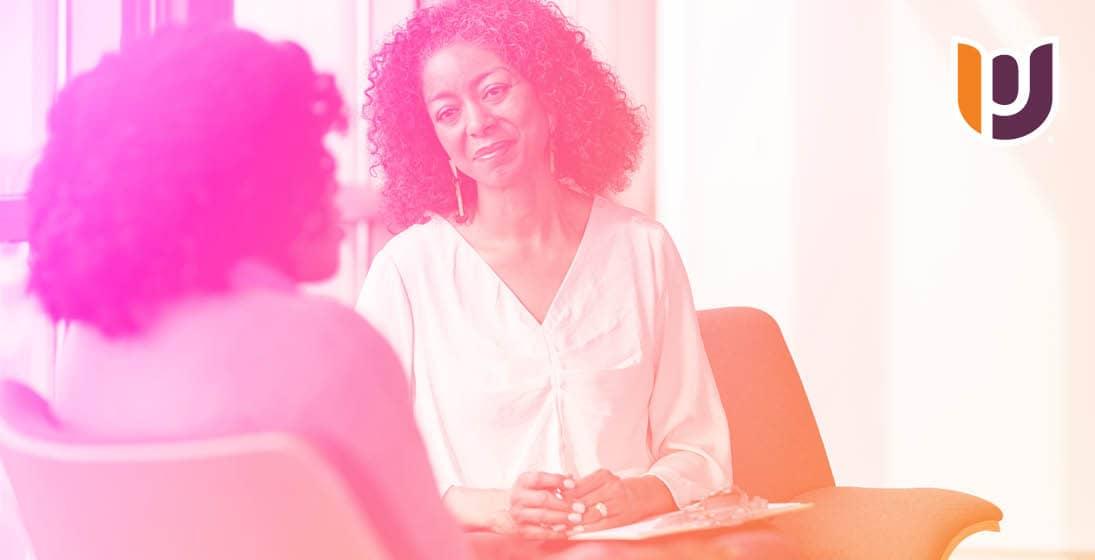 woman counselor