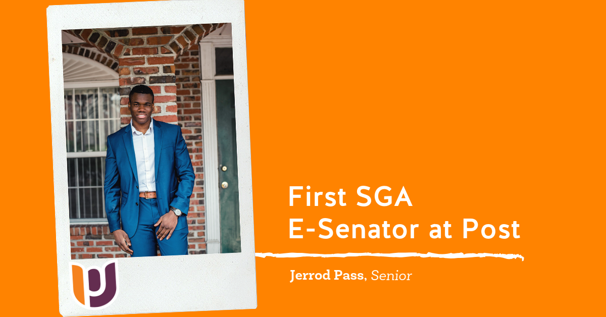 Jerrod Pass – First E-Senator for SGA