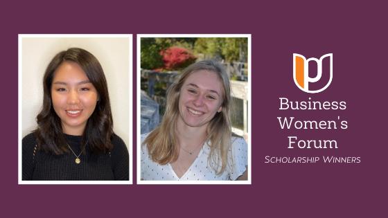Business Women's Forum Scholarship Award Winners