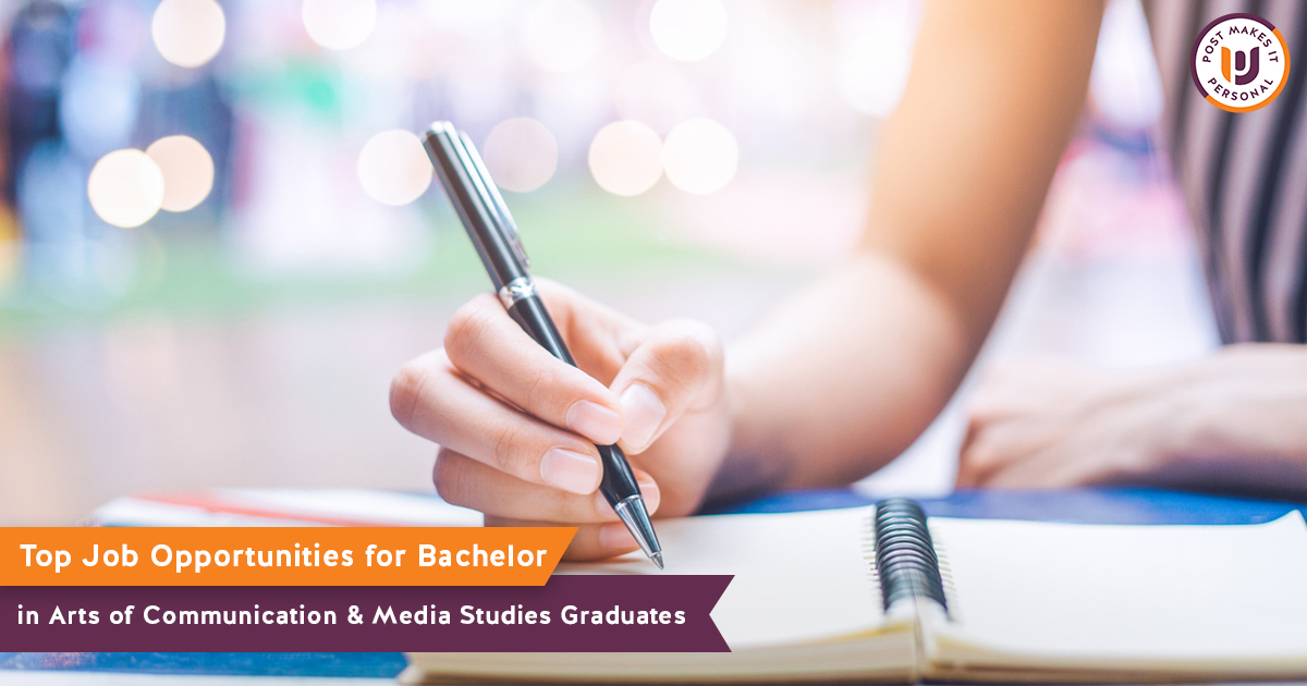 Top Job Opportunities for Bachelor of Arts in Communication & Media Studies Graduates