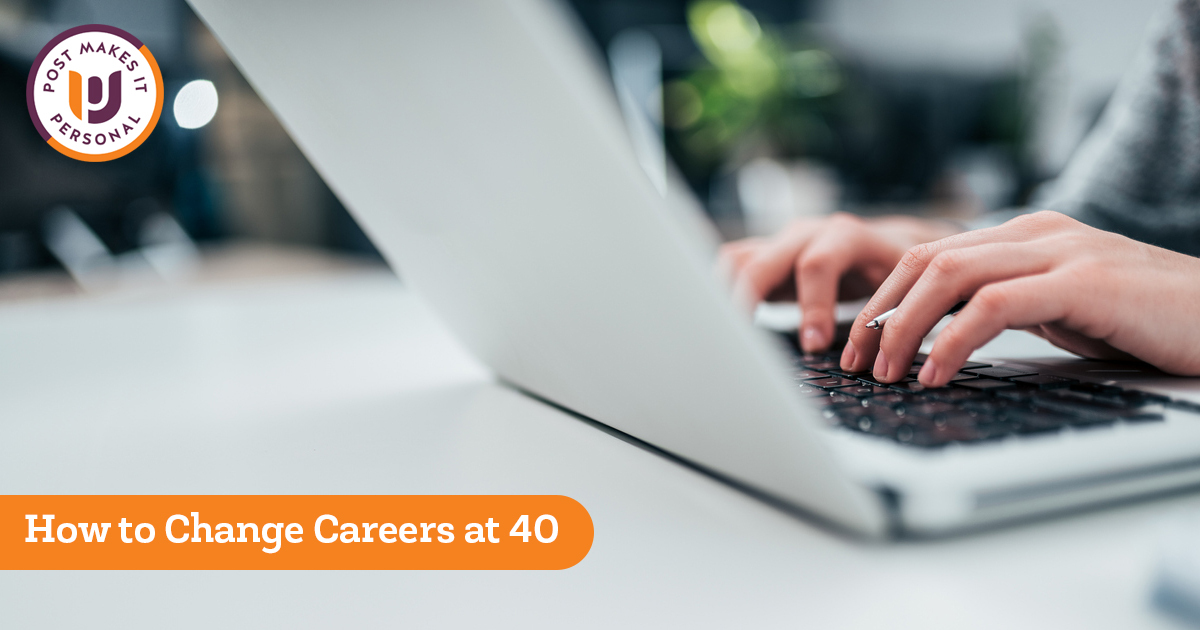 Changing Professions After 40: Using Your Experience to Transition into Your Dream Career