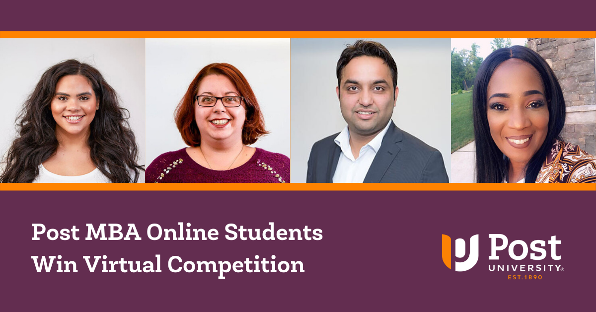 Post MBA Online Students Win Virtual Competition