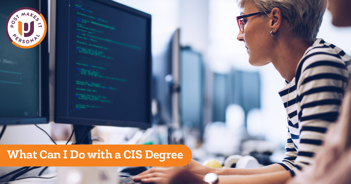 What Can I Do With a CIS Degree