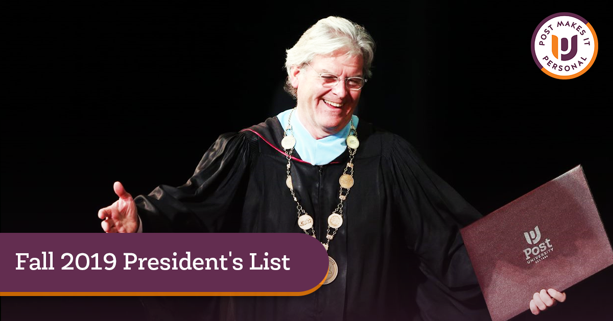 Fall 2019 President's List