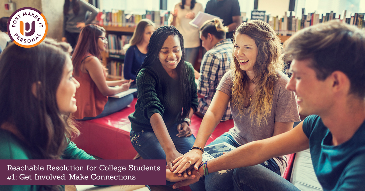 Reachable Resolution for College Students #1: Get Involved, Make Connections