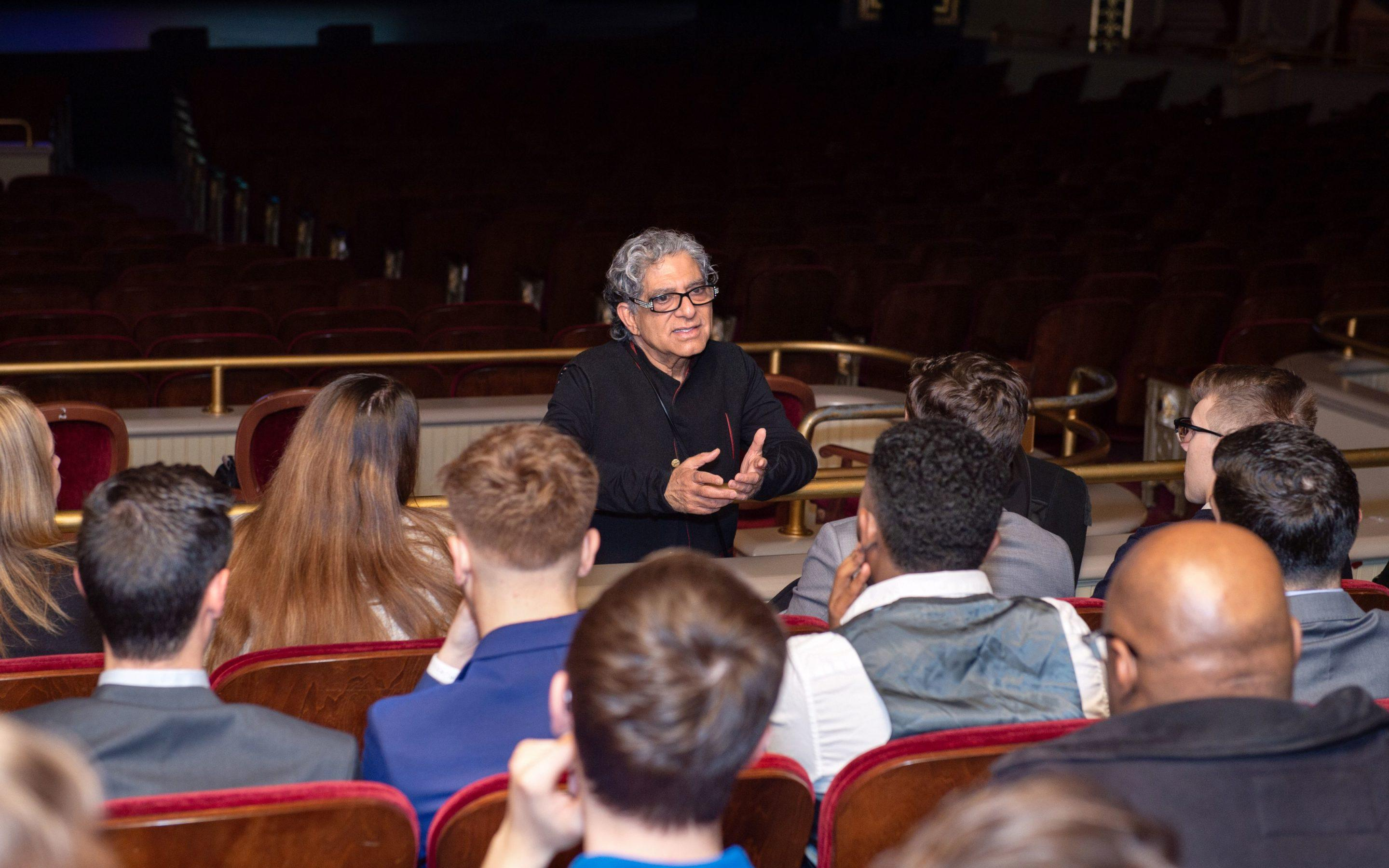 "Post University hosts ""The Nature of Reality"" with Deepak Chopra"