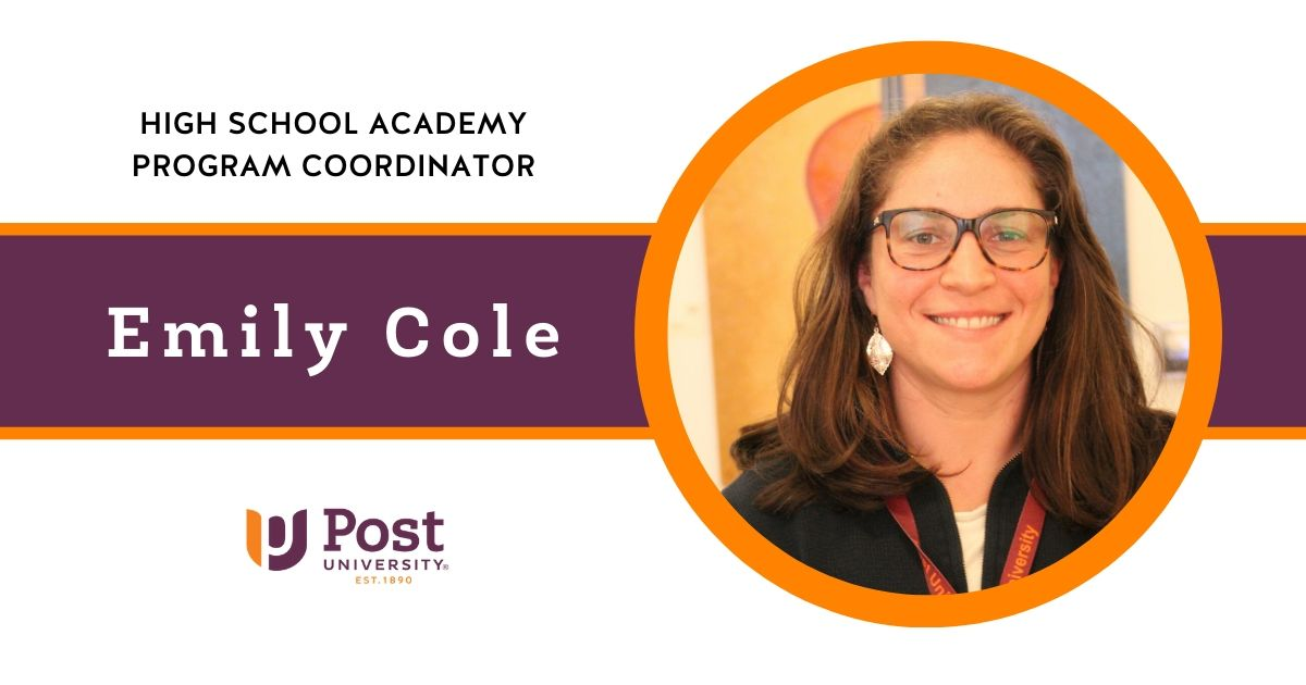 Post Welcomes New High School Academy Program Coordinator