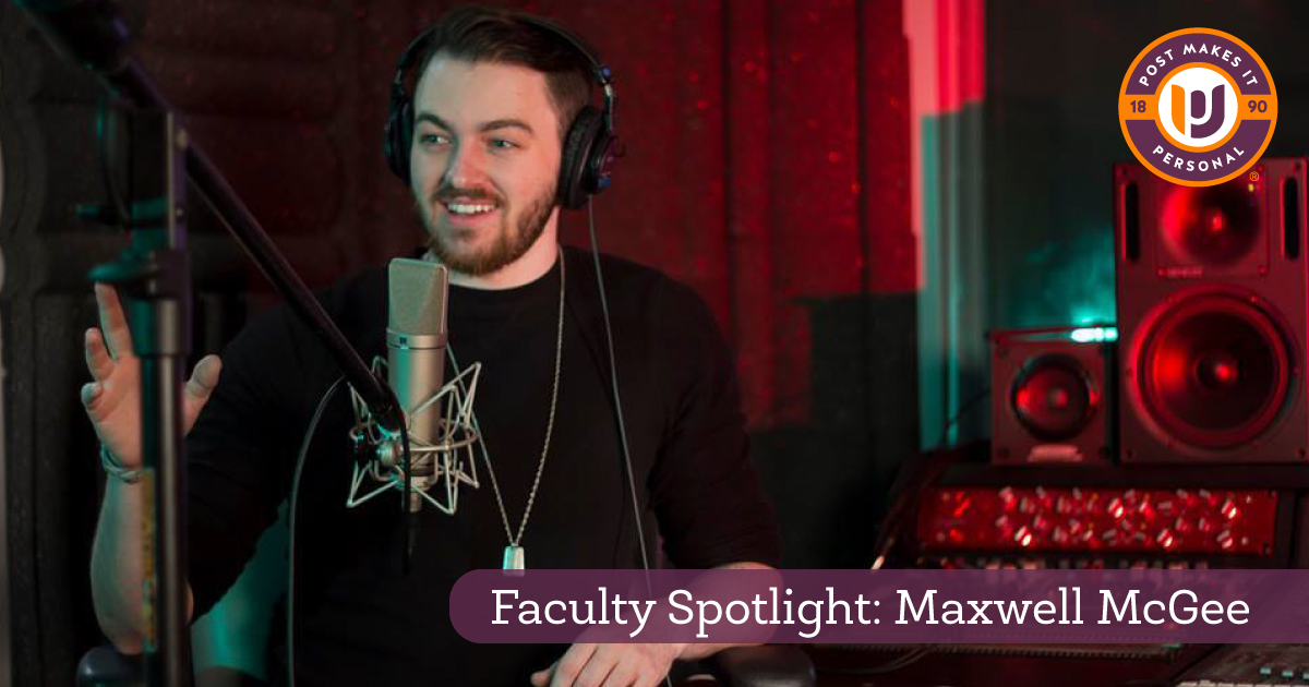 Faculty Spotlight: Maxwell McGee
