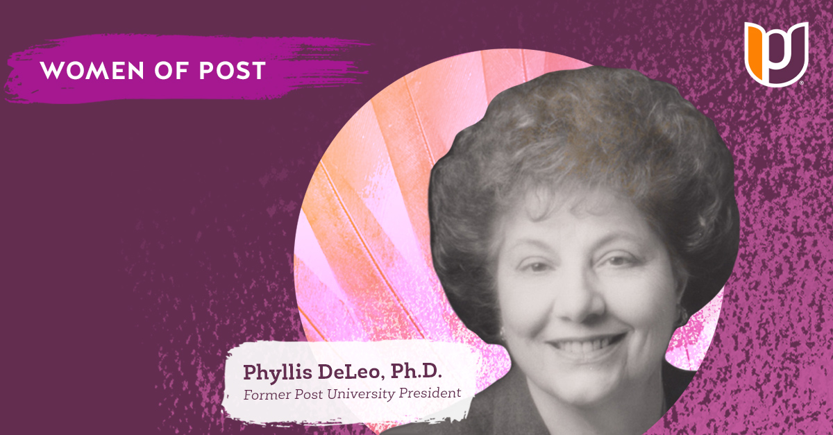 Women of Post – Phyllis C. DeLeo, Ph.D