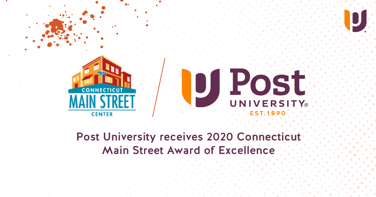 Post University Receives Connecticut Main Street Award of Excellence