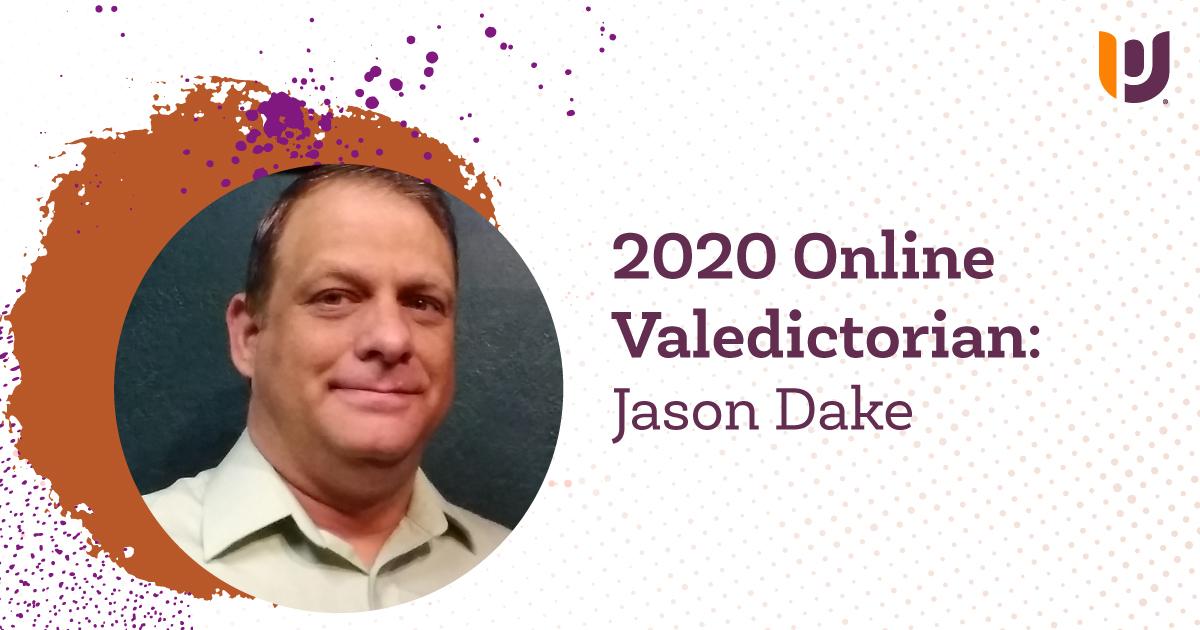 2020 Online Valedictorian: Jason Dake