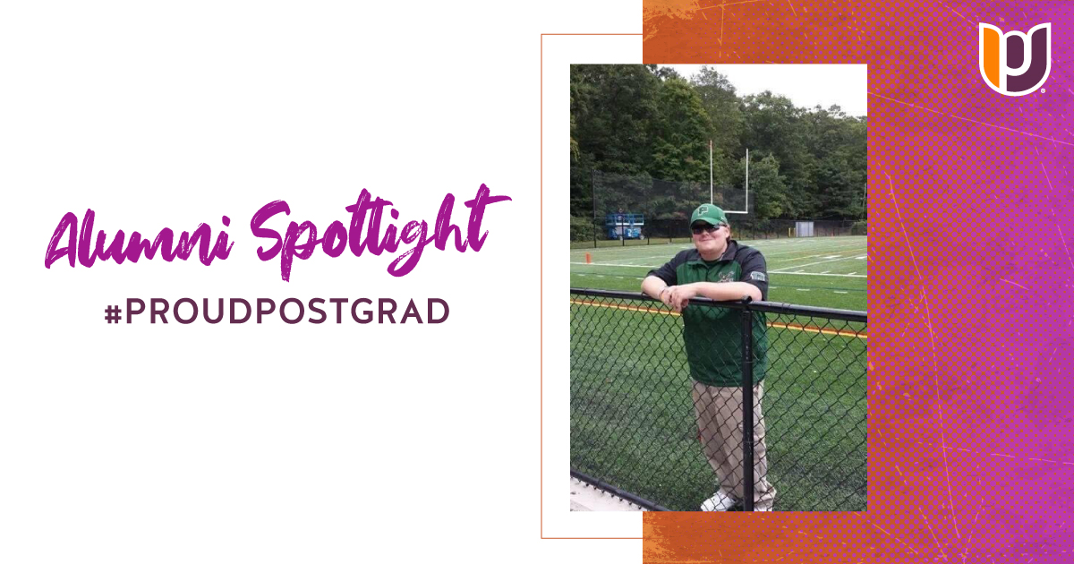 #ProudPostGrad Spotlight: Sport management grad's resume already includes NFL and NHL brands