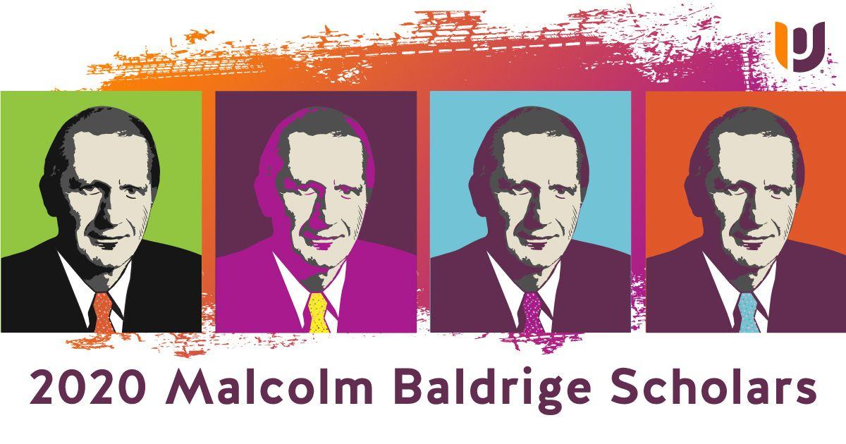 Recognizing the 2020 Malcolm Baldrige Scholars